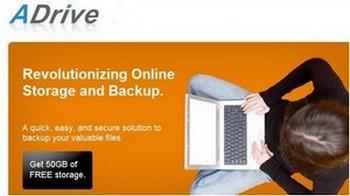 ADrive, 50 GB de espacio online por nuestra bonita cara